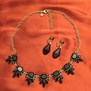 J.Crew necklace and earrings set